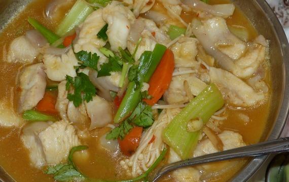 Vepřová čína se zeleninou