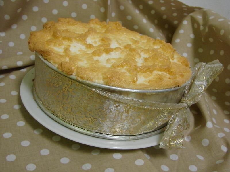 Citronový koláč s peřinkou