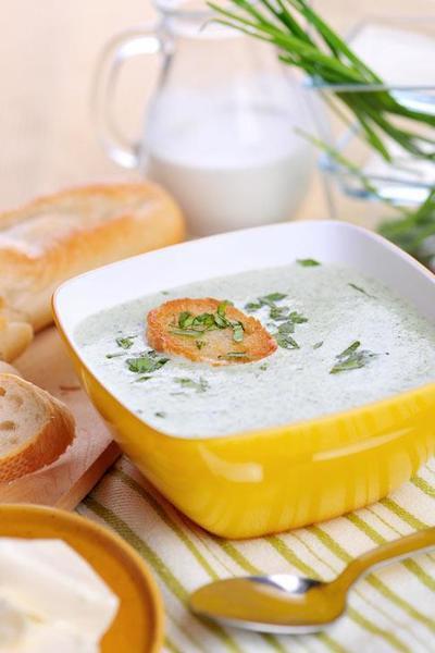 Brokolicový krém se sýrem
