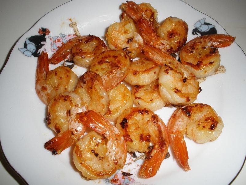 Pikantní krevety