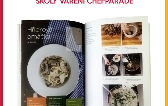 Soutěž o knihu školy vaření od Chefparade