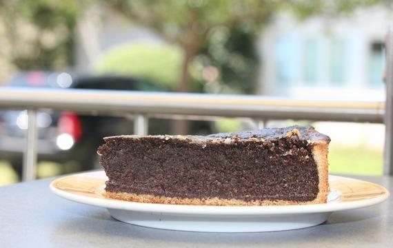 Zdravý makový koláč