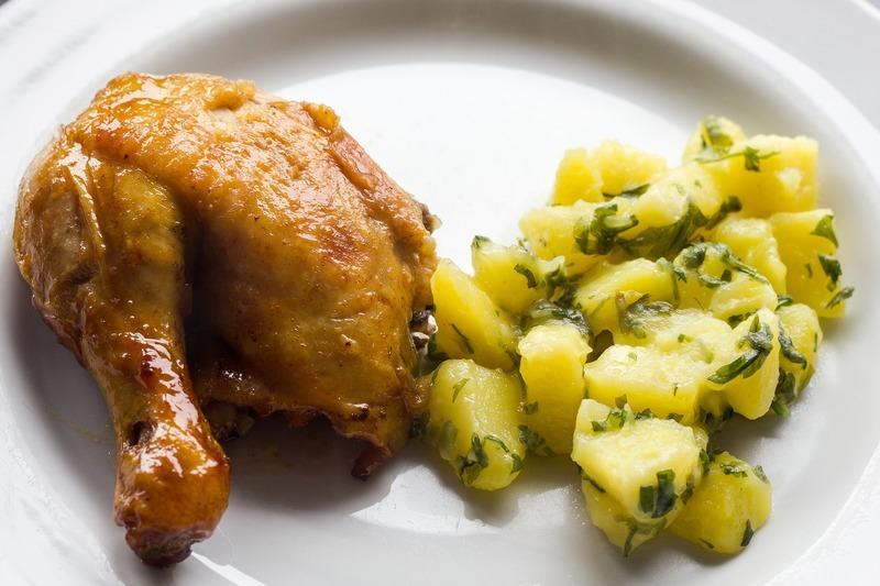Kuře na cibulce