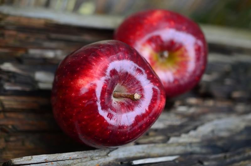 Křehké jablkové řezy 1