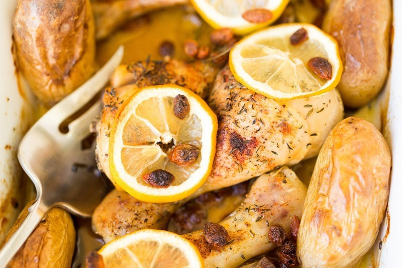 Zapečená kuřecí prsíčka s nivou