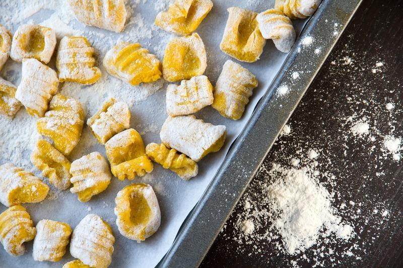 Sýrové noky do rajské polévky