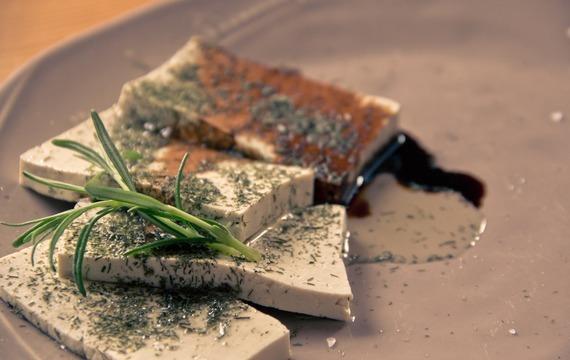 Tofu steaky