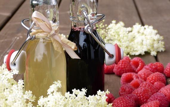 Domácí sirupy pro letní osvěžení