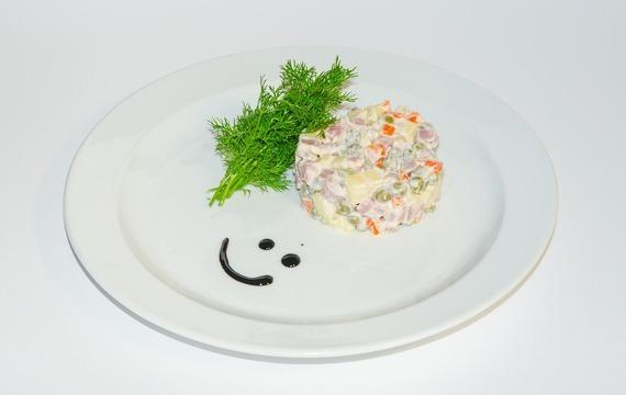 Pochoutkový salát