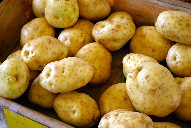 Plněné brambory