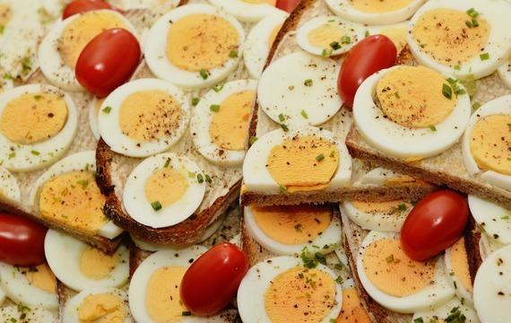 Vajíčka v kuchyni