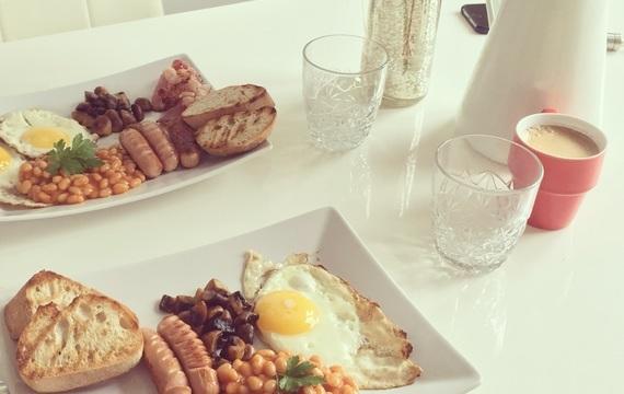 Full english breakfast aneb dokonalá snídaně