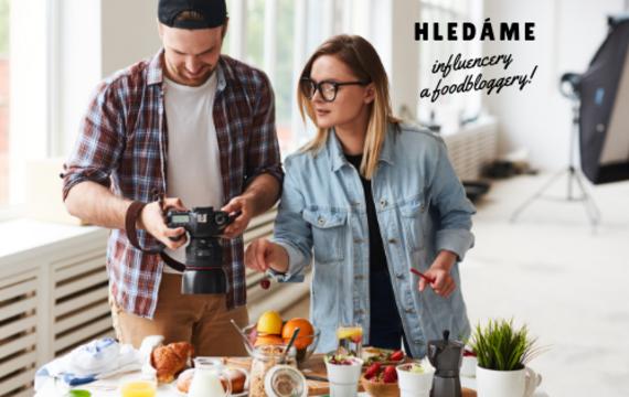 Hledáme bloggery a influencery!