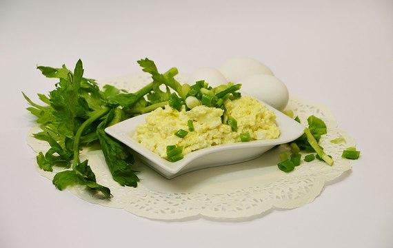 Vaječná pomazánka s majonézou