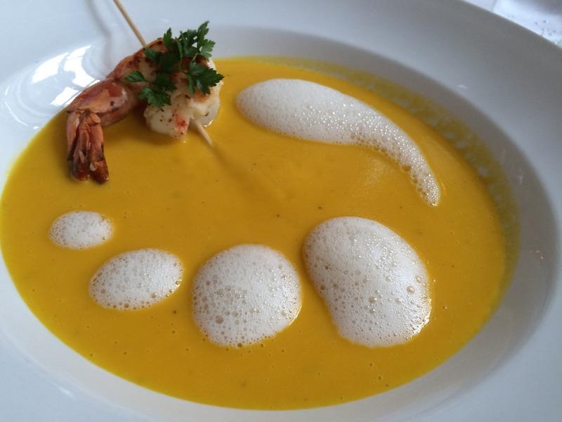 Krevetový vývar - Bisque