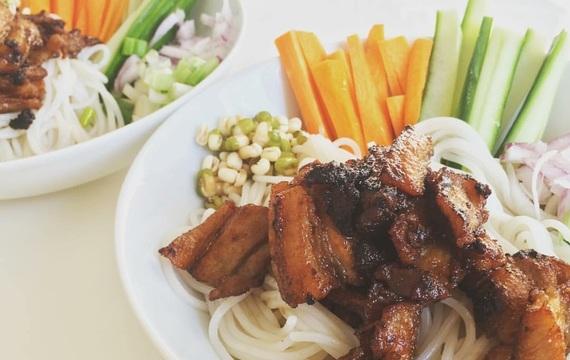 Tradiční vietnamská bun cha