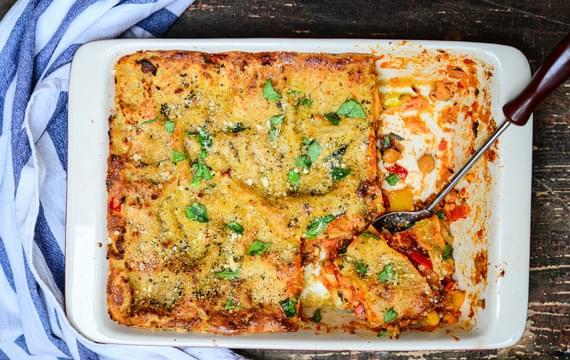Cizrnové lasagne