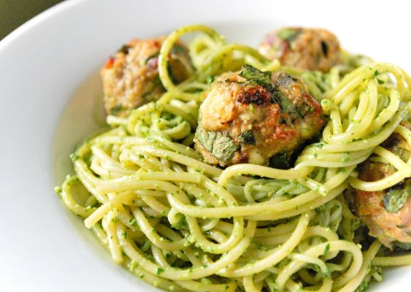 Výsledek obrázku pro špaget s špenatem