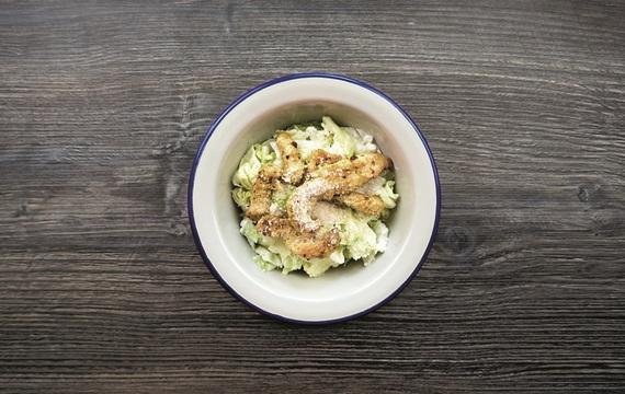 Hubněte s Cambridge Weight Plan: Cottage salát s kuřecím masem