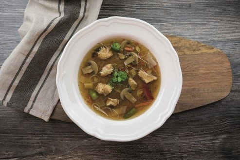Lehká asijská polévka na zahřátí podle Lukáše Vrány z CWP