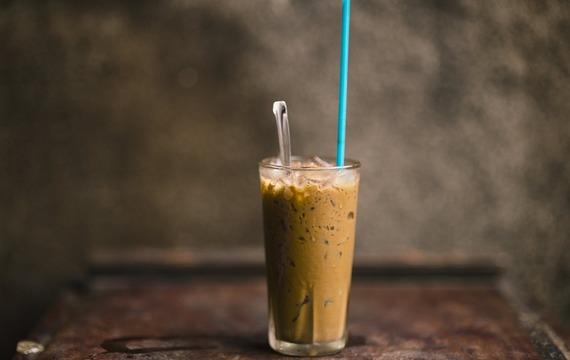 Ledová káva jako z kavárny