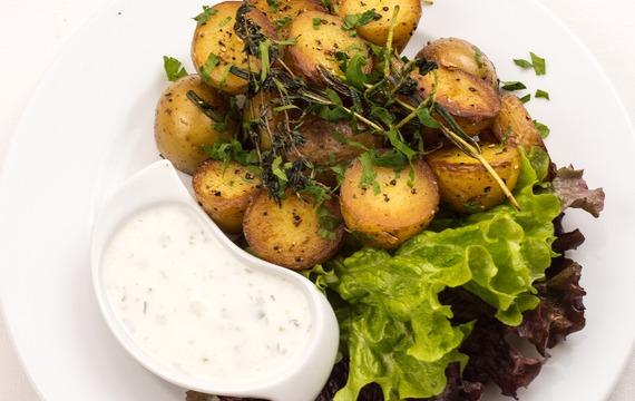 Pečené brambory