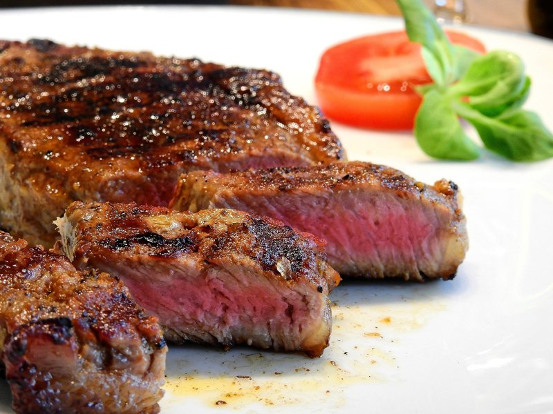 Hovězí steak na pepři