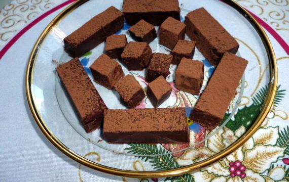 Rakouské čokoládové štangličky