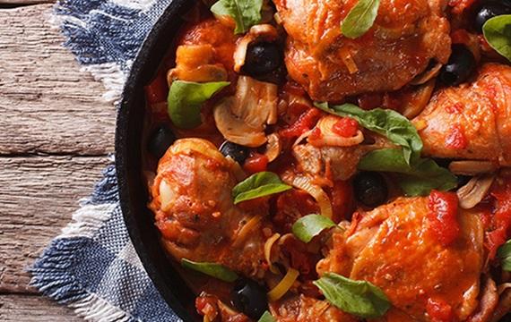 Španělská kuřecí pánev podle The 1:1 Diet