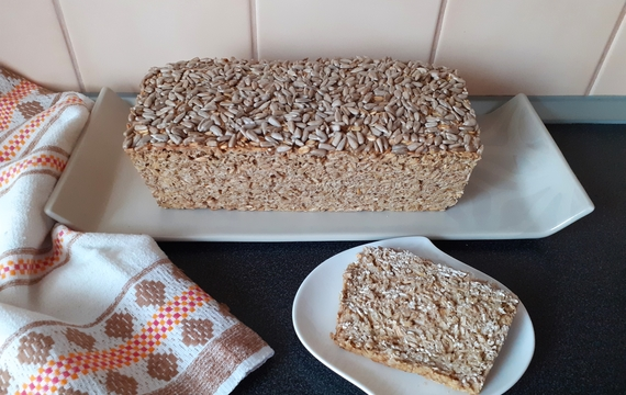 Chlebík z ovesných vloček
