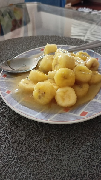 Banány v karamelu