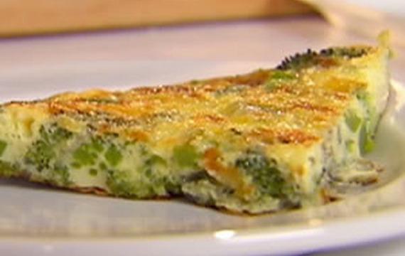 Brokolicové omelety