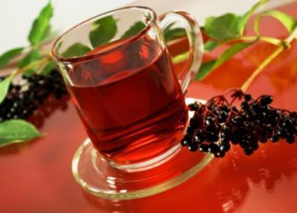 Čaj z černého bezu