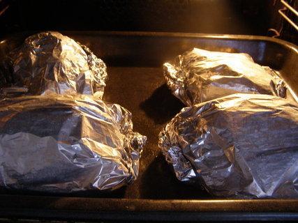 Pečené kuře v alobalu