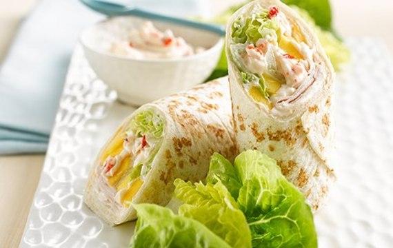 Thajské krůtí tortilly