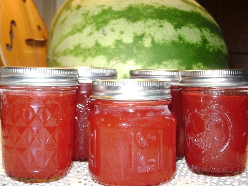 Marmeláda z melounu